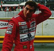 Ayrton Senna la Imola in 1989