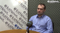 Catalin Cosoi in studioul HotNews.ro
