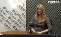 Kimberly Benson in studioul Hotnews