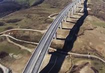 Viaductul de la Aciliu (martie 2014)