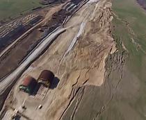 Alunecari de teren pe lotul 3 Sibiu - Orastie