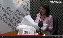 Captura - video interviu Andreea David