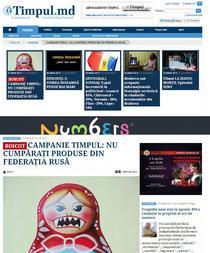 Ziarul Timpul cere boicotarea produselor rusesti