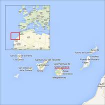 Gran Canaria - harta