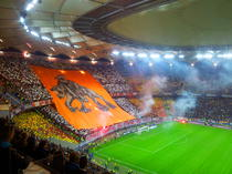 Atmosfera superba la derbiul Steaua vs Dinamo