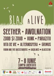 Afis Festival - Blaj aLive