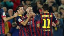 Xavi, Messi si Neymar