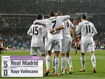 Real Madrid, victorie categorica