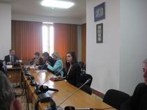 Ioana Petrescu in timpul audierilor