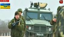 In 4 martie, s-au tras primele focuri de arma la baza aeriana Belbek, de langa Sevastopol