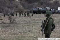 Militarii care au ocupat Crimeea