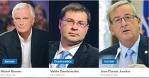 Cei trei pretendenti inscrisi pentru nominalizarea candidatului PPE la presedintia Comisiei Europene