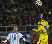 Fotogalerie: Romania - Argentina