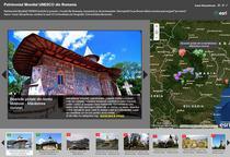 Story Map - Patrimoniul mondial UNESCU din Romania