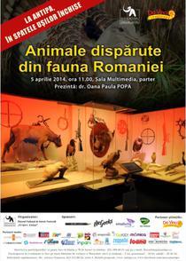 Animale disparute din fauna Romaniei