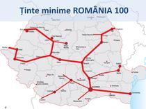 Strategia de autostrazi USL - Romania 100