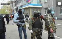 Militanti pro-rusi la Slaviansk