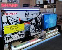 Sharp tinteste pe termen mediu o cota de 5% pe piata TV-urilor