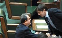 Vasile Blaga si Crin Antonescu