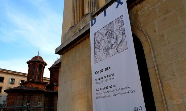 Otto Dix- O lume in ruine