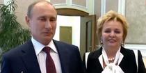 Vladimir Putin si fosta sotie, Ludmila
