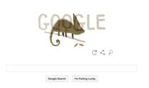 Logo Google de Ziua Pamantului