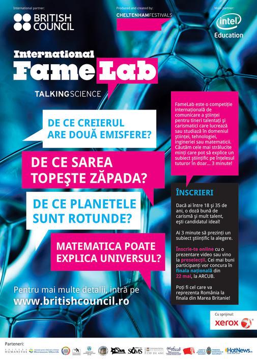 FameLab 2014