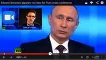 "Vladimir Putin in direct cu Edward Snowden: ""Vorbim ca intre profesionisti"""