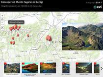 Story map - Descoperind Muntii Fagaras si Bucegi