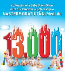 MedLife la targul Baby Boom Show