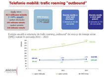 Utilizarea serviciilor de telefonie mobila in roaming, in crestere