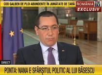Victor Ponta la Romania TV