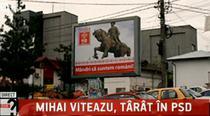 Mihai Viteazu, pe afisele electorale ale PSD