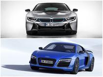 BMW i8 si Audi R8 LMX