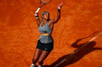 Serena Williams, la Roma