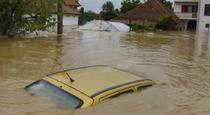 Inundatii grave in Serbia