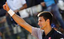Novak Djokovic, la Roma