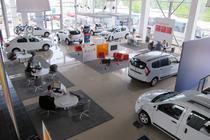 Showroom-ul Dacia Meridian Vest