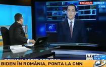 Victor Ponta la CNN, din studioul Antena 3