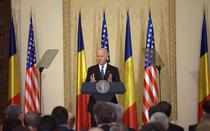 Joe Biden la Palatul Cotroceni, in 2014