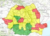 Prezenta finala la alegerile europarlamentare din 2014 - pe judete
