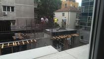 FOTOGALERIE Blocul de pe spatiul verde din cartierul Floreasca