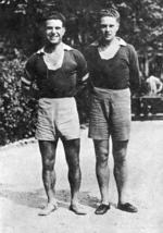 Lazar Sfera si Ghita Albu, cuplul de fundasi de la Venus si Nationala