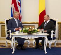Traian Basescu si Printul Charles