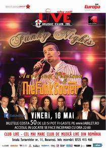 Aurelian Temisan in club Live