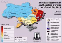 Harta crizei din Ucraina