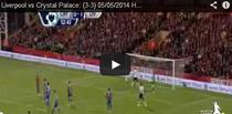 Liverpool, partida de uitat pe terenul lui Crystal Palace