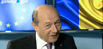 Traian Basescu la Gandul Live