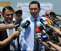 Ovidiu Silaghi alaturi de premierul Ponta