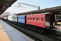 Trenuri istorice la Gara de Nord